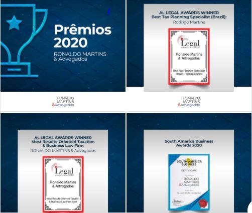 Prêmios 2020